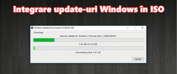 Integration updates and service packs in Windows 7, 8 Windows, Microsoft Office and 8.1