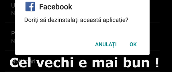 Revenire la vechiul Facebook, fără My Stories sau Direct