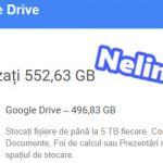 armazenamento online ilimitado sobre o Google Drive