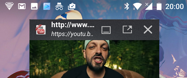 Das Hören von Musik auf YouTube Android Bildschirm ausgeschaltet und Telefon gesperrt