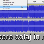 Come rompere un collage audio di canzoni