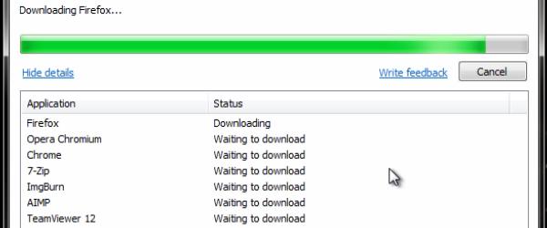 Program, který nainstalujete veškerý software, jakmile