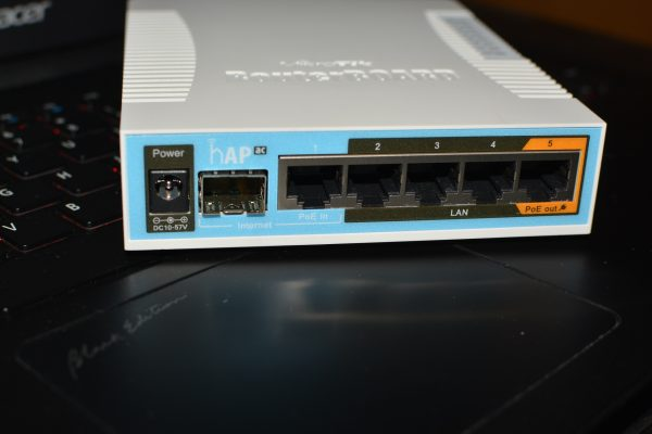 AC PAH recension Mikrotik, router top