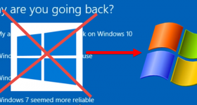 A Windows downgrade Windows 10 7, 8 vagy 8.1