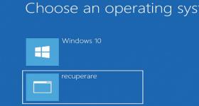Jak vytvořit oddíl pro obnovení systému Windows
