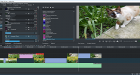 editor de vídeo gratuito kdenlive para Windows y Linux
