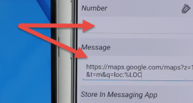 Location by phone number without net SMS