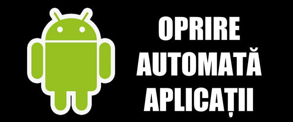 Výstup automatické vypnutie aplikácií na Android