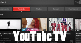 YouTube TV, un nou mod de a controla conținutul video