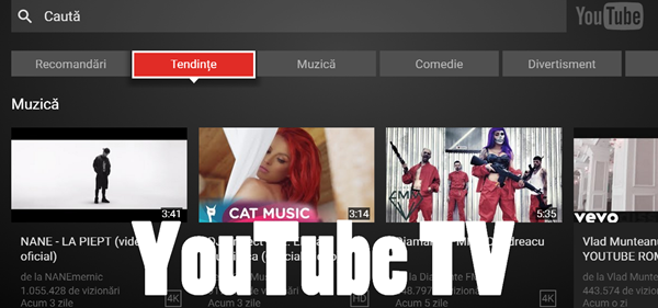 YouTube TV, a new way to control video content