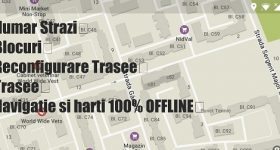 De beste toepassing OFFLINE navigatie en kaart