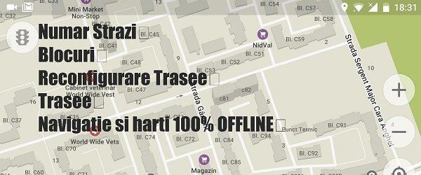 Najboljši navigacijske aplikacije offline in zemljevid