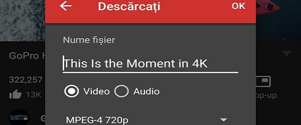 Cits YouTube, mūzikas lejupielāde, 4K tālrunī, mūzika, kurā ekrāns ir izslēgts