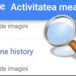 Kā izdzēst vietējo un tiešsaistes tīmekļa vēsturi - vēsturi Google serveros