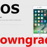 """""""iPhone"""" 6S, grįžimas iš """"iOS"""" """"11"""" į """"10"""" (""""iOS"""" žemyn)"""
