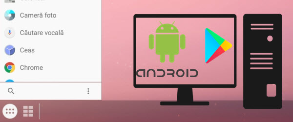 Installing applications and Android on PC - with the Play Store
