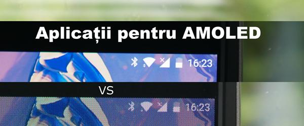 Apps für AMOLED Bildschirm aus, batteriesparend, runde Ecken