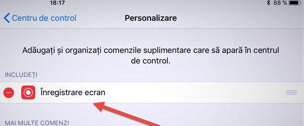 Enregistrement d'application sans écran IPhone ou iPad