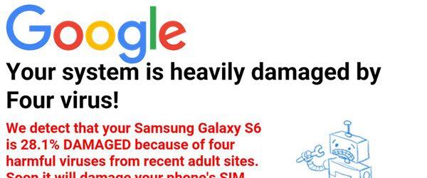 Bloķēt logus ar ERROR brīdinājumiem Android ierīcēs