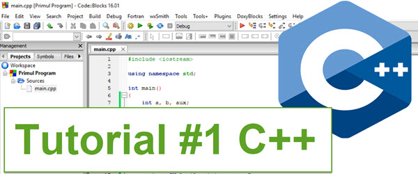 Introduction to programming - C ++ tutorial - 1 course