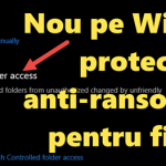 Anti-ransomware anti-codering NIEUWE bestanden in Windows Defender