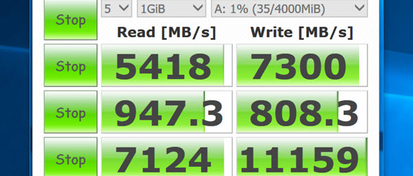 RAM Disk faster than an SSD and is already at your PC