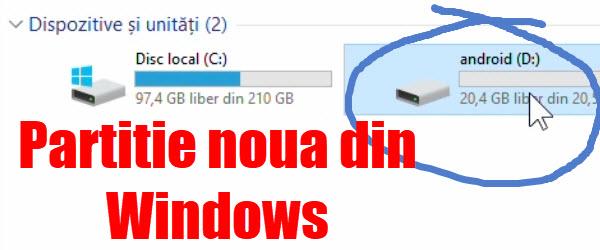 Maak een nieuwe partitie op een windows schijf - Een verwijderbare partitie maken ...