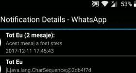 WhatsApp, jak czytamy usunięte wiadomości