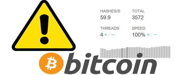 How to block the misuse of BITCOIN on your PC