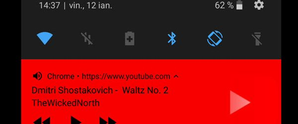 Как да слушате музика в YouTube на телефона си, като екранът е заключен