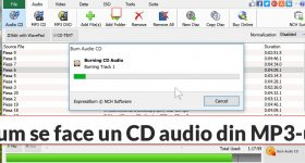 Как да направите CD Audio Track от MP3 за вашата кола или аудио системи