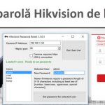 איפוס IP Hikvision מרחוק מצלמת IP סיסמה (זהירות)
