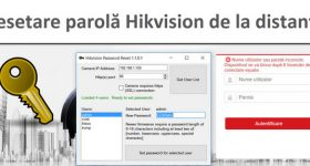 Réinitialiser le mot de passe de la caméra IP Hikvision à distance IP (ATTENTION)