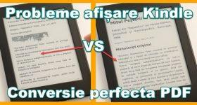 Pārveidojiet PDF grāmatas par iekurt bez formatēšanas kļūdām