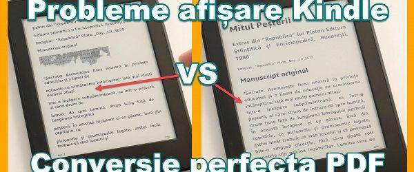 PDF formátumú könyvek konvertálása Kindle formázási hibák nélkül + hirdetések eltávolítása