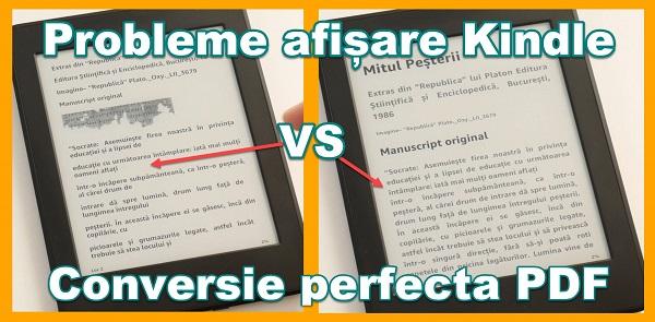 Konvertera PDF-böcker till Kindle utan att formatera fel