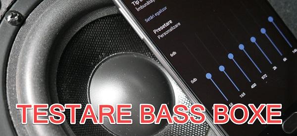 Kako testirate bas s zvučnika pomoću telefona?