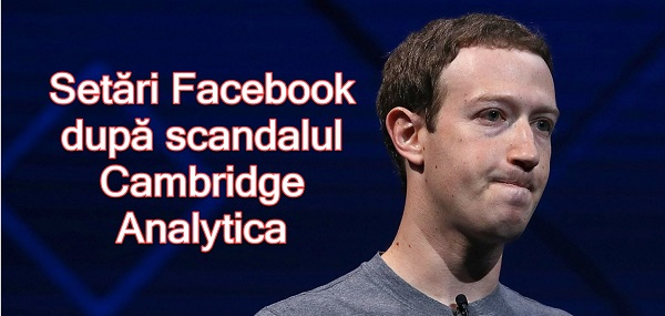 Recommended Facebook settings related to the Cambridge Analytica scandal