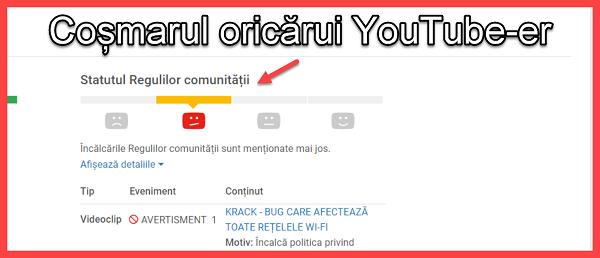 Ce poți sa urci pe youtube, ca sa nu ramai fără canal