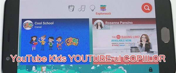 YouTube Kids ima posebno aplikacijo YouTube za otroke