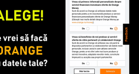 Orange konfidencialitātes iestatījumi