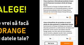 Narančaste postavke privatnosti