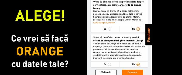 Tetapan Privasi Orange