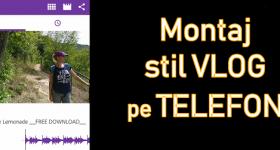 Ievietojiet Vlog stilu ar attēliem, videoklipiem un mūziku Android ierīcē