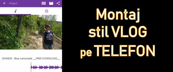 Připojte styl vlogu s obrázky, videem a hudbou v systému Android