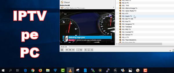 Cum poți sa vezi posturi IPTV pe PC