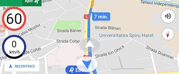 Phone Speed ​​Limiter für Google Maps - Anti-Geldbußen -