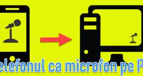 Så här använder du telefonen som en mikrofon på din dator