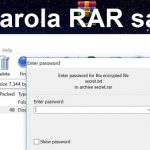 Kā atrast paroli RAR vai ZIP parolēm