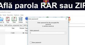 How to find the password for RAR or ZIP passwords